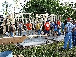 Barn Raising photos by Dianne Edwards